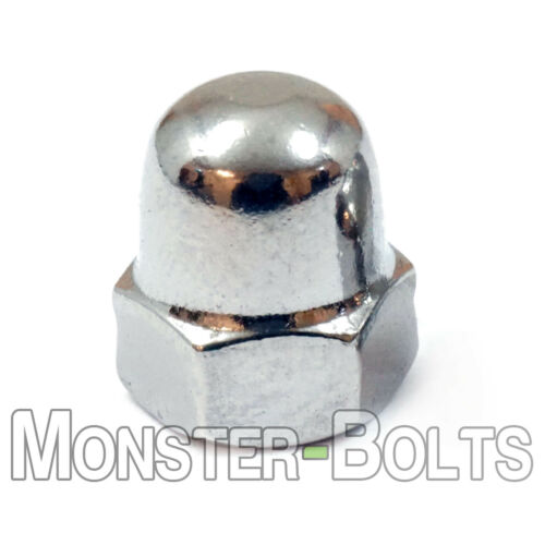 M5-0.80 Acorn Domed Cap Hex Nuts High Type DIN 1587 A2 Stainless Steel Coarse