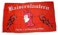 "Kaiserslautern Fahne ""Rheinland-Pfalz"" Flagge Fan Kurve 150x90 cm"