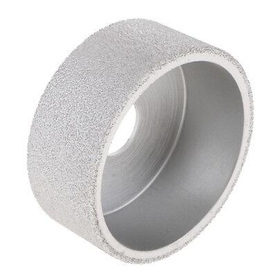 Vacuum Brazed Diamond Profile Grinding Wheel Tools 30mm Drum 20mm Hole Dia