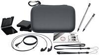 Nintendo 3ds Essential Pack Grau Tasche + Zubehör Neu Bigben