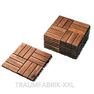 Ikea 9 mm pacco mattonelle in legno griglia del pavimento for Pavimenti x esterni ikea