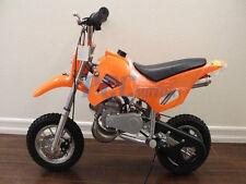 FREE SHIPPING KIDS 49CC 2 STROKE GAS MOTOR DIRT MINI POCKET BIKE ORANGE H DB49A