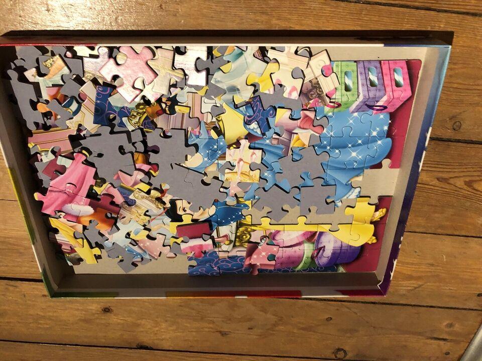 Supercolor Disney, 150 brikker, puslespil