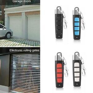 Universal Button Gate Garage Door Opener Remote Control Code Rolling 433MHZ U9S6