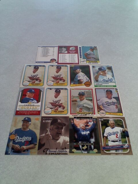 *****Tom LaSorda*****  Lot of 50 cards.....25 DIFFERENT