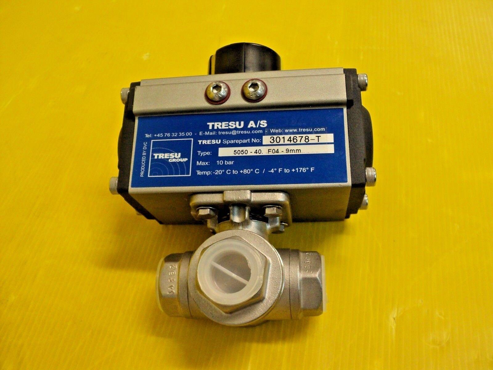 TRESU A S 5050-40 F04-9mm MAX 10 BAR