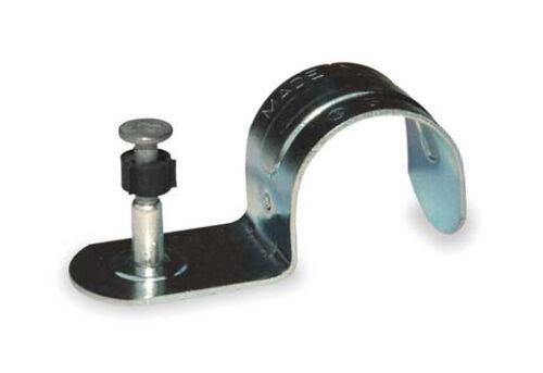 RAMSET 12HSMP034 Conduit Strap w//Plated Pin,1//2 In.,PK100