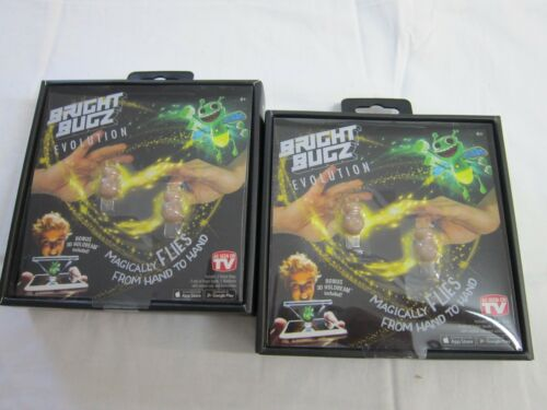 2 Magical YELLOW Bright Bugz Light Senders by WOW Factory 45/%OFF RETAIL!