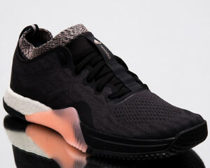 brand new b013f 3b80b Image is loading adidas-Wmns-CrazyTrain-Elite-Women-New-Black-Orange-