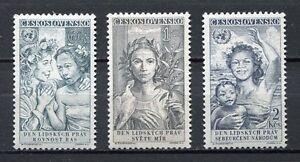 37073-Checoslovaquia-1959-MNH-Human-Rights-3v