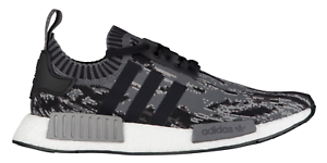 huge discount 0362b 2e29f Image is loading Adidas-NMD-R1-PK-Primeknit-BZ0223-Glitch-Camo-