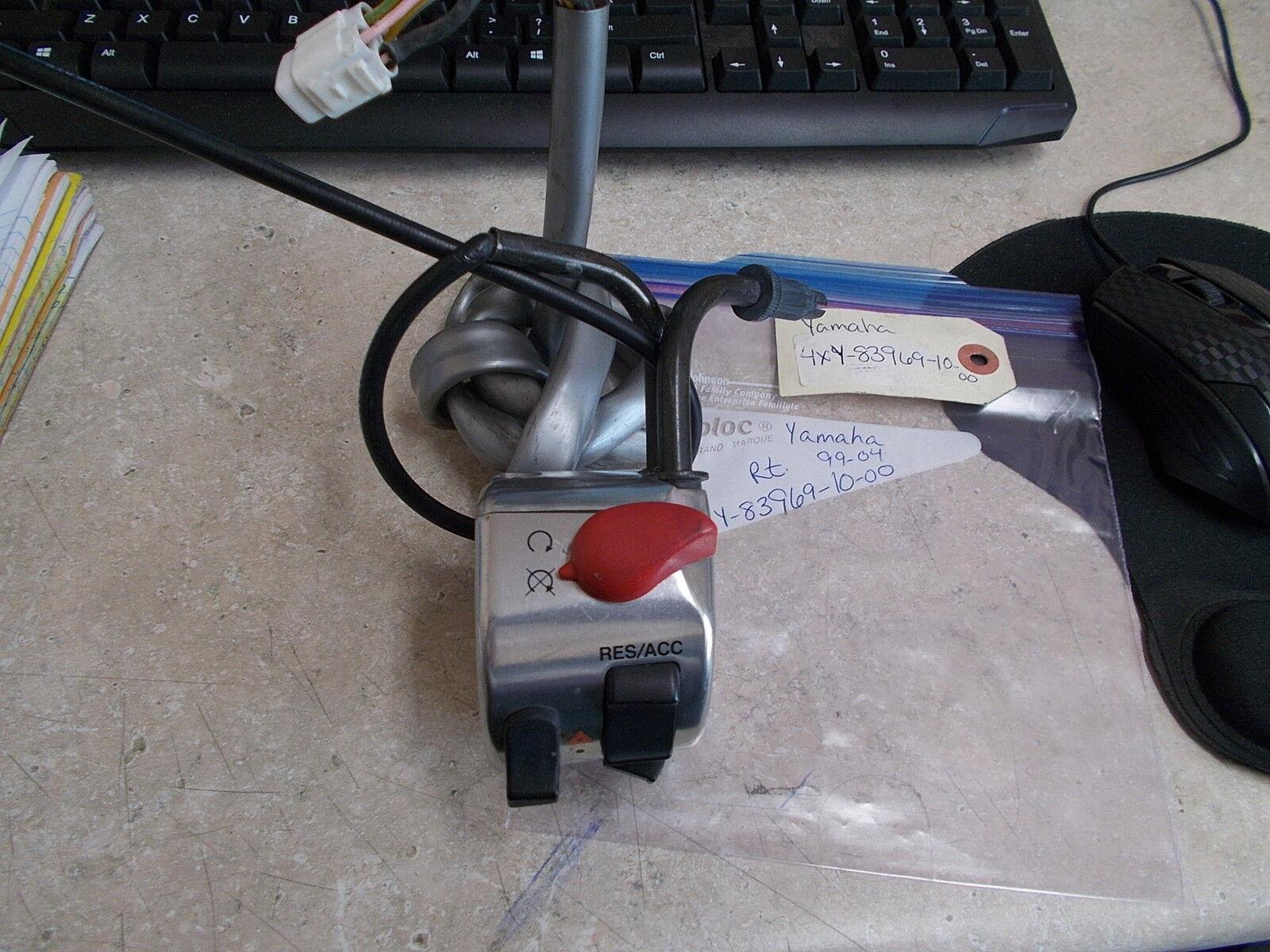 Oem Yamaha Lenker Schalter Rechts 5 1999-2004 Xvz13 Xvz1300 4xy-83969-10-00     Komfort