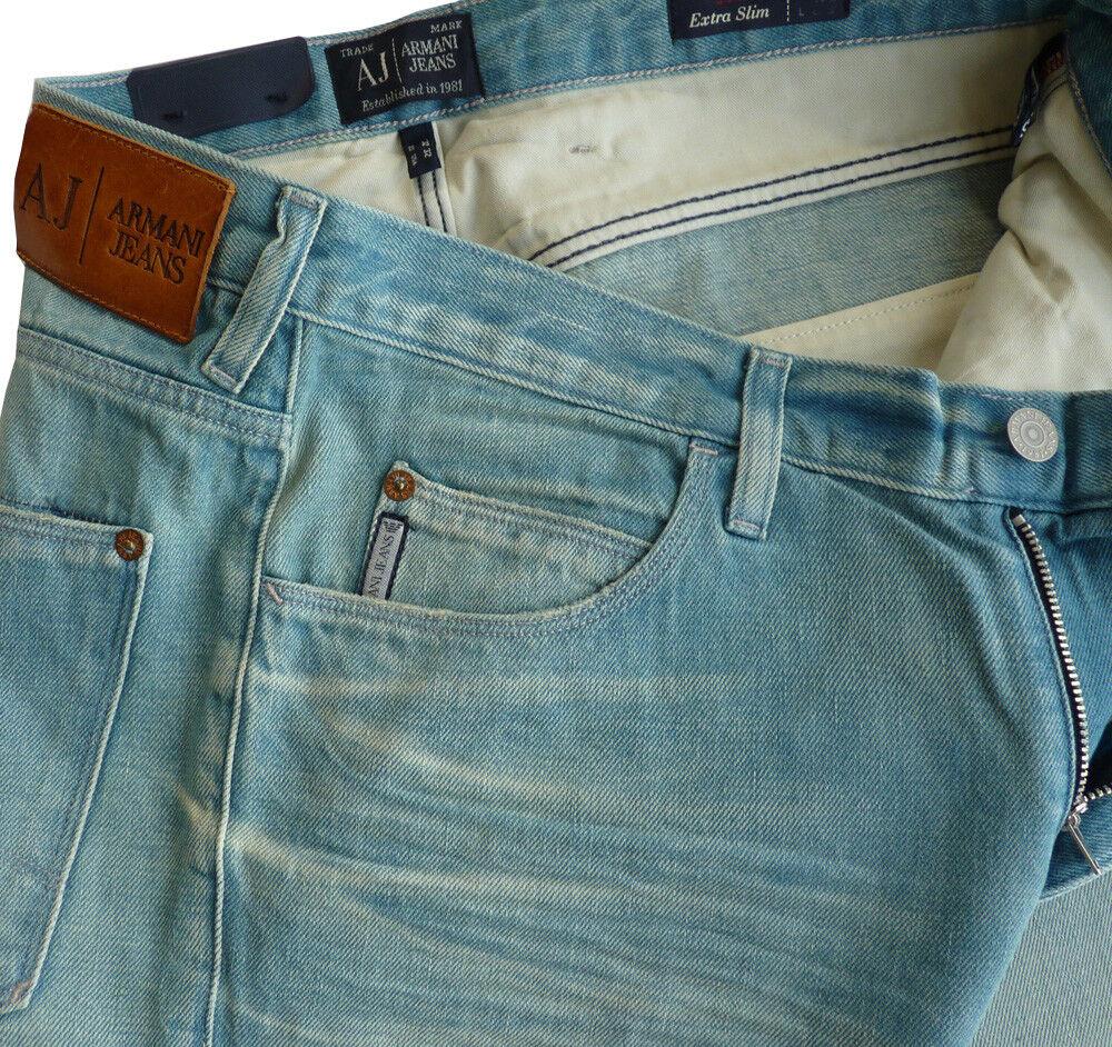 Exlusive ARMANI JEANS Jeans Tg. w32 l34, Style j10, j10, j10, Extra Slim 482964