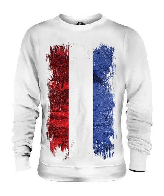 NETHERLANDS GRUNGE FLAG UNISEX SWEATER TOP NEDERLAND DUTCH NEDERLÂN HOLLAND