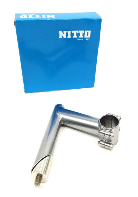 Nitto Ui-12 Bicycle Quill Stem Silver 31.8 71d x 110mm