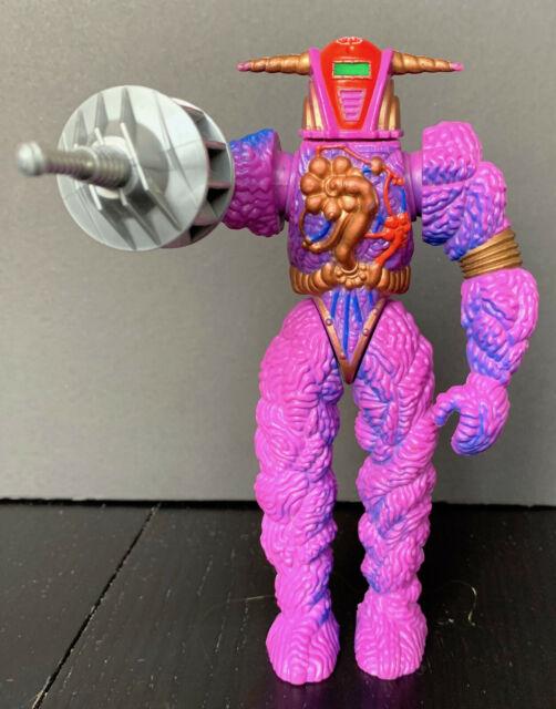 Vintage 1986 Hasbro Inhumanoids Auger Figure Complete With Helmet