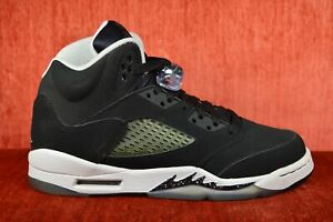 7bffa5f433ae CLEAN AIR JORDAN 5 OREO YOUTH Size 6 6Y RETRO 440888-035 Black White ...
