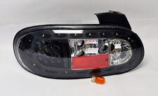 Mazda Miata MX5 98-05 MK2 Euro Black LED Tail Lights Pair RH LH
