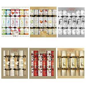 Christmas-Pack-of-12-Luxury-Crackers-34cm-Choose-Design
