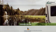 Prospekt Eifelland Holiday Caravan 2007 2008 Wohnwagen Katalog brochure caravans
