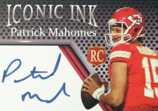 Kansas City Chiefs Patrick Mahomes Autograph Edition Rookie  Card - 3 DAY SALE