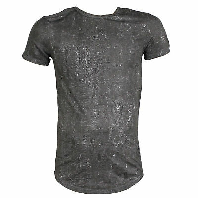 RELIGION CLOTHING Herren T-Shirt ROMAN TEE dark grey