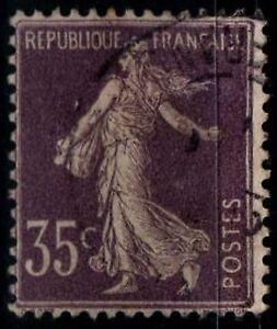 SEMEUSE-CAMEE-35c-violet-Oblitere-Cote-15-Lot-Timbre-France-136