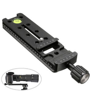 140mm-Nodal-Rail-Slide-Quick-Release-Plate-Tripod-Clamp-For-Macro-Panoramic-Arca