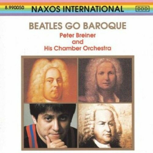 1 of 1 - Peter Breiner - Beatles Go Baroque [New CD]