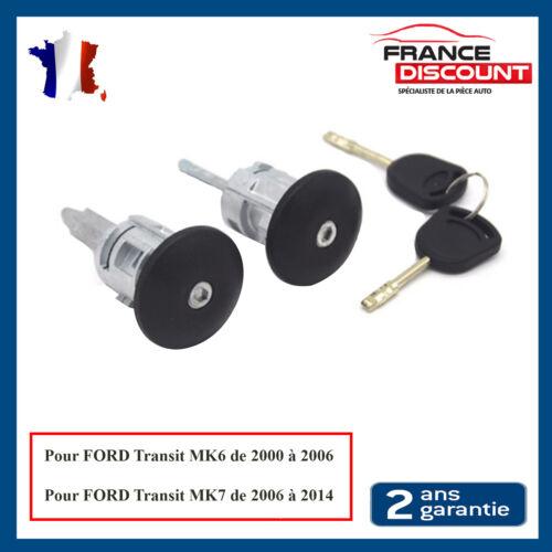 Serrure Porte Avant Gauche et Droit pour Ford Transit MK6 MK7 = 4060638 4060639