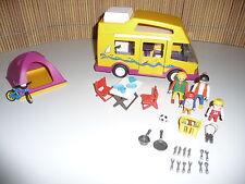 Playmobil Wohnmobil Camper 3945 mit Zelt 3844