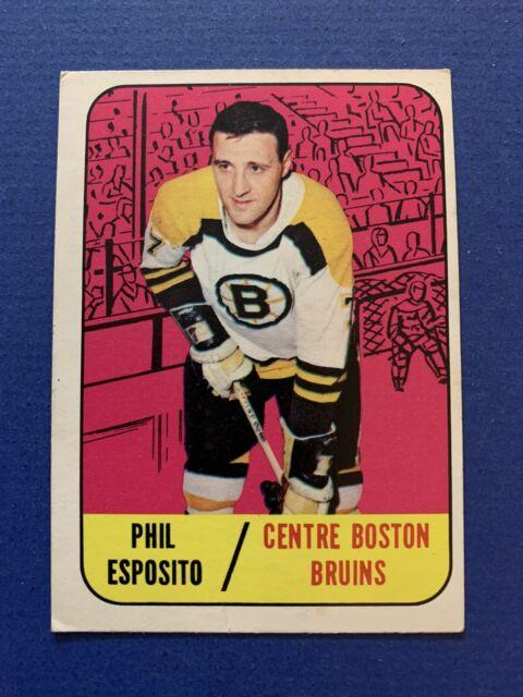 1967-68 Vintage Topps SET BREAK #32 Phil Esposito Boston Bruins