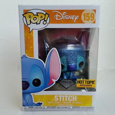 Funko Pop Disney Stitch Glitter Hot topic Exclusive