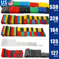 530 127pcs Heat Shrink Tubing Insulation Shrinkable Tube 21 Wire Cable Sleeve