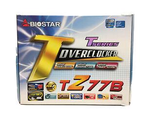 BIOSTAR-TZ77B-Motherboard-LGA-1155-USB-3-HDMI-VGA-DVI-SATA-DDR3-Z77-for-i7-i5-i3