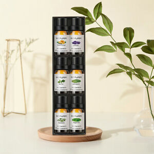 Aromatherapy-6-Essential-Oil-Set-100-Pure-Therapeutic-Gift-Sampler-Kit-Oils-CHZ