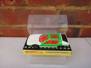 Vintage Dinky Toys 189 Lamborghini Marzal Coche Con Caja Original