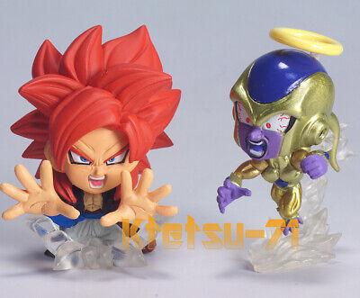 Dragon Ball Super Warrior Capsule Figure 01 BANDAI Gashapon 4 types figure Set