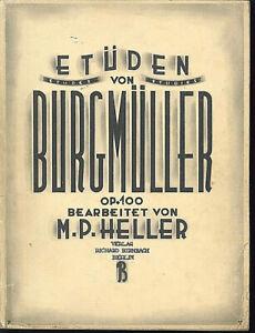 Burgsmueller-Op-100-Etueden-bearbeitet-von-M-P-Heller