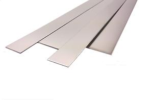 aluminium edelstahl stahl blechstreifen 1 4mm in versch breiten 1000mm lang ebay. Black Bedroom Furniture Sets. Home Design Ideas