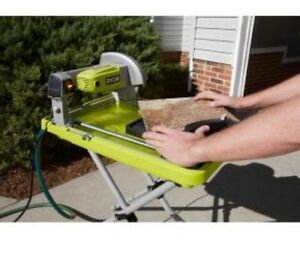 Ryobi Overhead Wet Tile Saw 7 In Blade Ebay