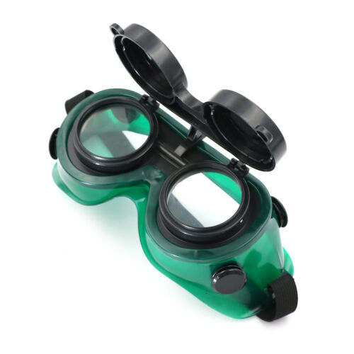 Cutting Grinding Welding Goggles With Flip Up Glasses Welder HV