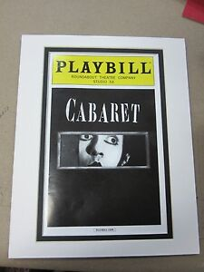 Picture Framing Mat for Playbill fits standard 8x10 picture mat choose colors