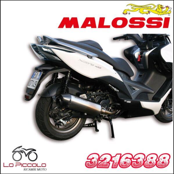 3216388 Marmitta Malossi Rx Omologata Kymco Xciting 400 Ie 4t Lc Euro 3