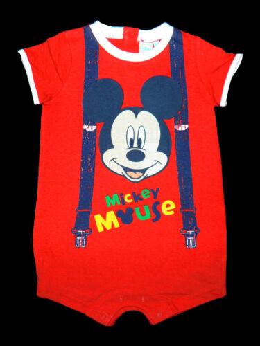 Disney Mickey Micky Maus Spieler Body Schlafanzug Pyjama 62 68 74 80 86 NEU blau