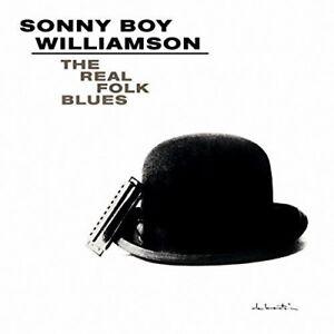 Sonny-Boy-Williamson-Real-Folk-Blues-New-Vinyl-LP-UK-Import