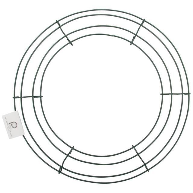 "wire wreath frame 12"", 30 cm, ghirlanda metallo natale fuoripista"