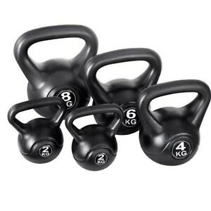 vinyl kettlebell weight fitness home gym workouts kettlebells 2 12kgimage is loading vinyl kettlebell weight fitness home gym workouts kettlebells