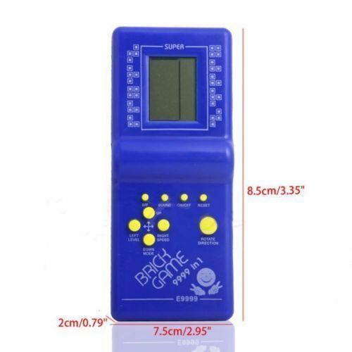 LCD BRICK GAME SNAKE 999-IN-1 HANDHELD ARCADE CLASSIC UK STOCK