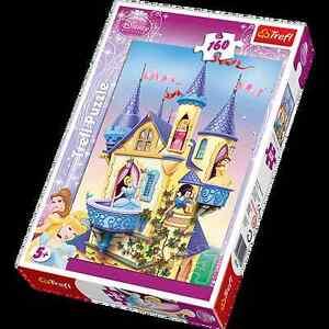 TREFL-puzzle-160-pieces-DISNEY-Les-princesses-Chateau-5-NEUF